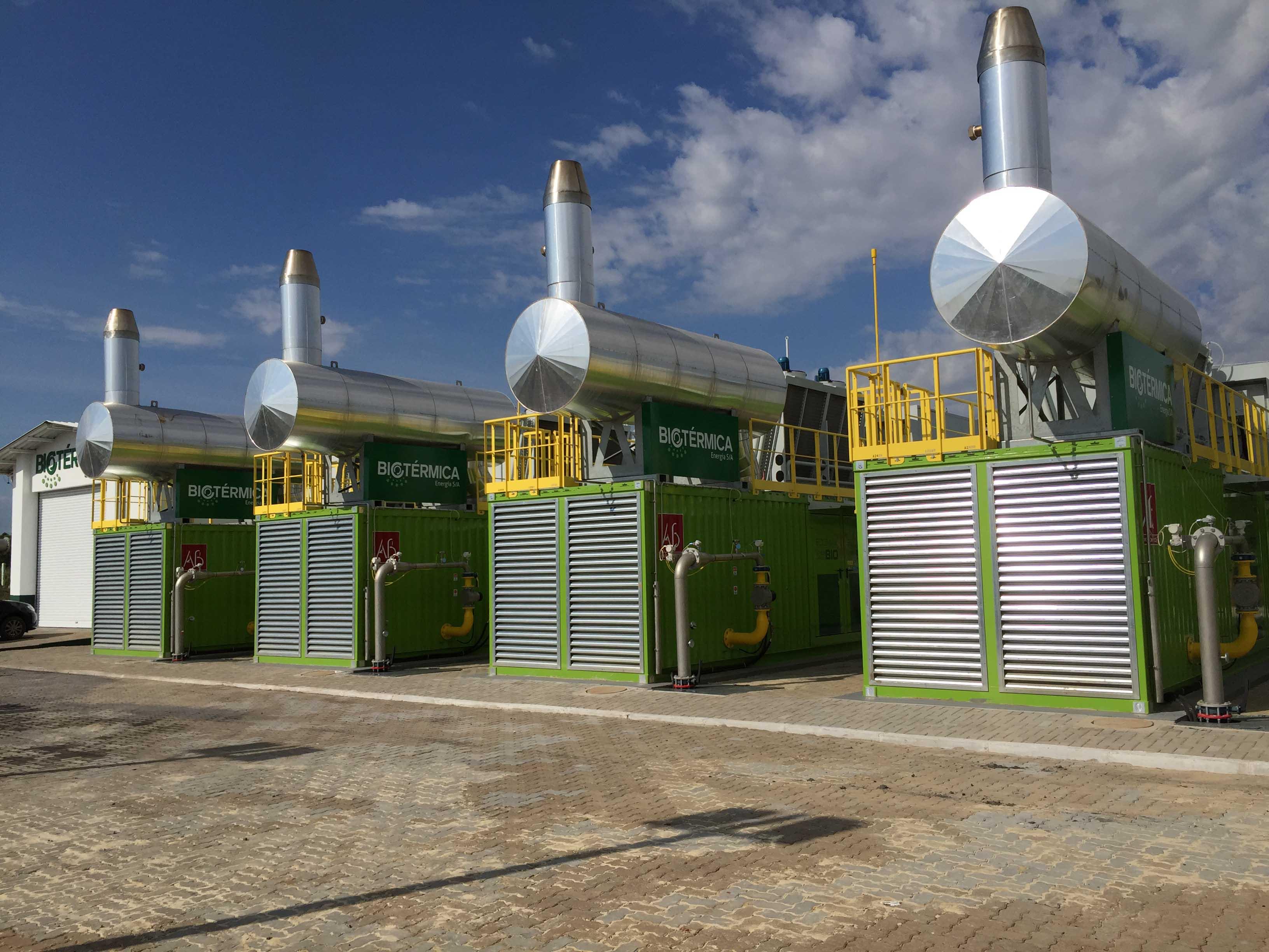 Geradores de energia elétrica a partir de biogás