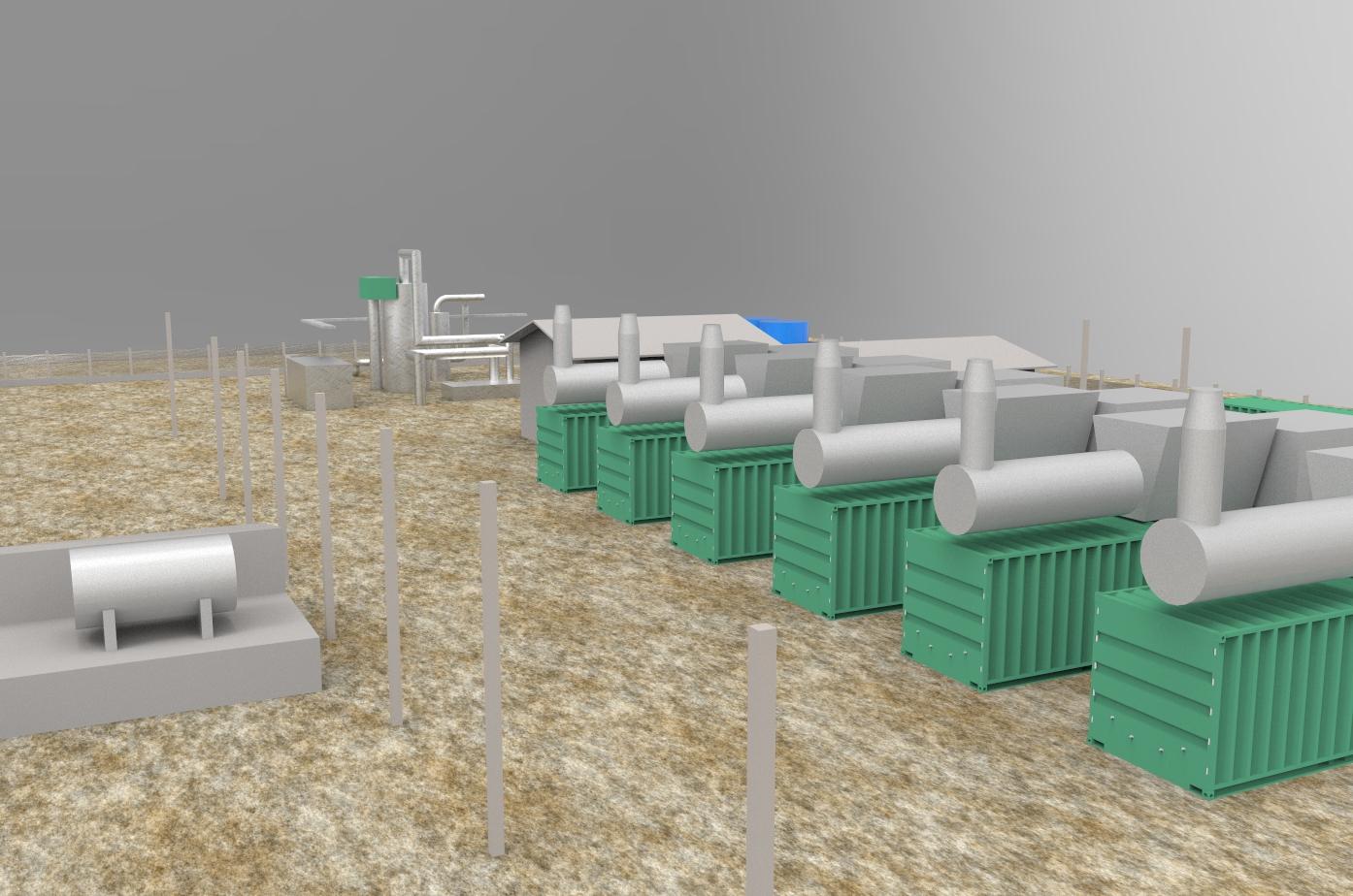 Projeto tridimensional do local para simulação de esfera rolante do sistema de proteção contra descargas atmosféricas