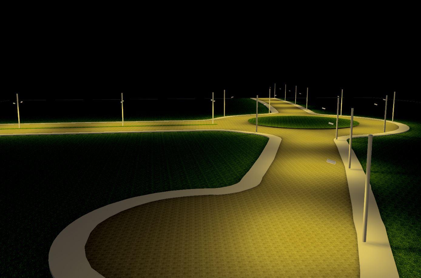 Distribuição de iluminação, Luminotécnico